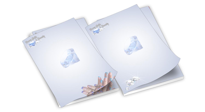 Firmenpapier Entwerfen Für Eine Nageldesign Firma