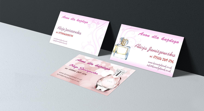 Visitenkarten Erstellen Für Kosmetikartikel Verkäufer