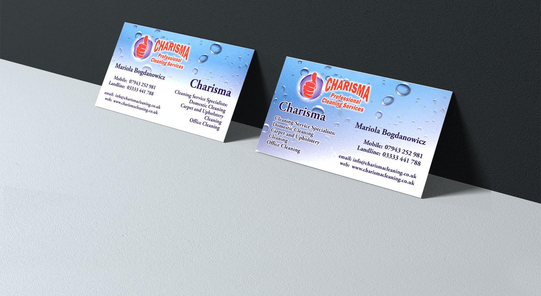 Visitenkarten Für Eine Putzfirma Entwerfen Design Von