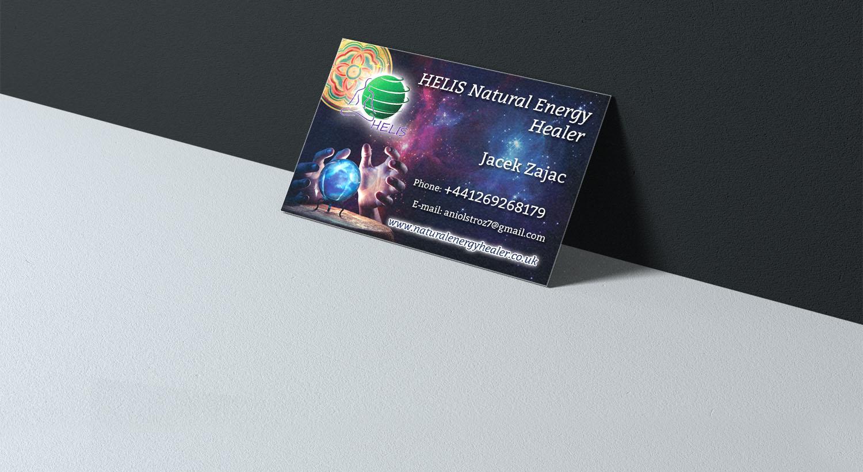 Therapie Durch Natürliche Energie Visitenkarte Erstellen