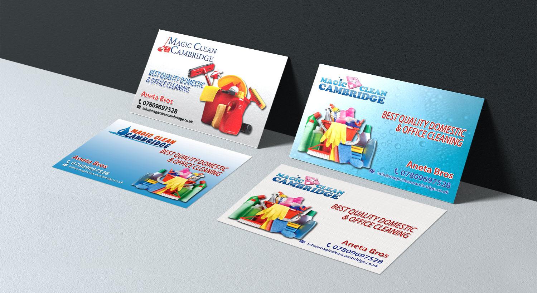 Erstellung Von Visitenkarten Für Putzfirmen Visitenkarten