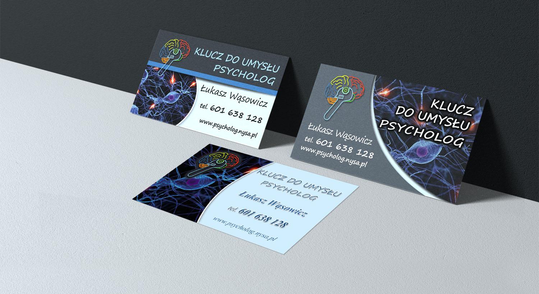 Entwurf Von Visitenkarten Für Psychologen Visitenkarten