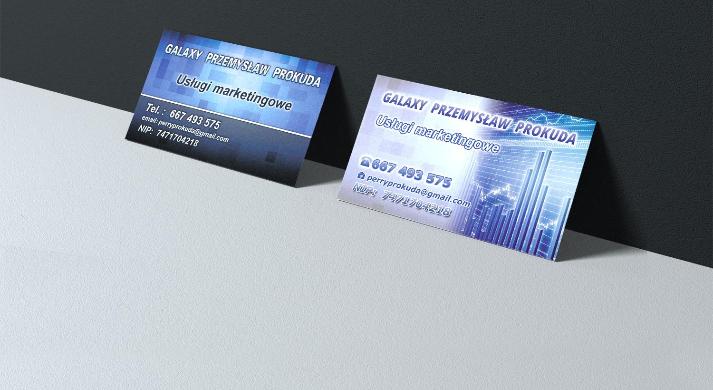 Erstellung Einer Visitenkarte Für Eine Marketing Agentur