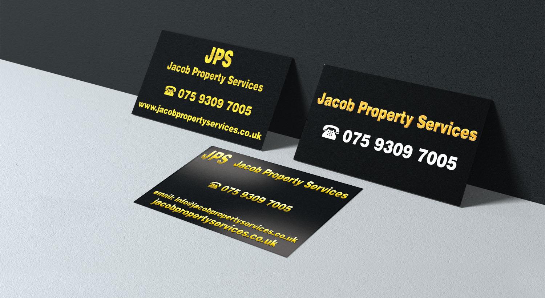 Visitenkarten Entwerfen Für Immobilien Dienstleistungen
