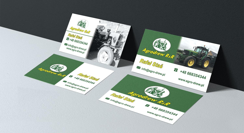 Visitenkarten Erstellen Für Firmen Die Landmaschinen Aus