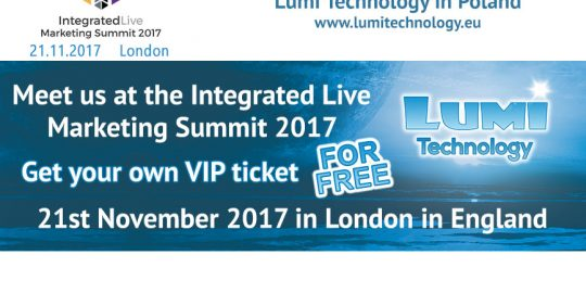 Freie VIP Eintrittskarte Integrated Live Marketing Summit 2017