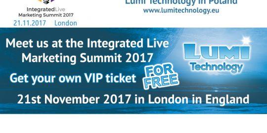 Freie VIP Eintrittskarte Integrated Live Marketing Summit 2017